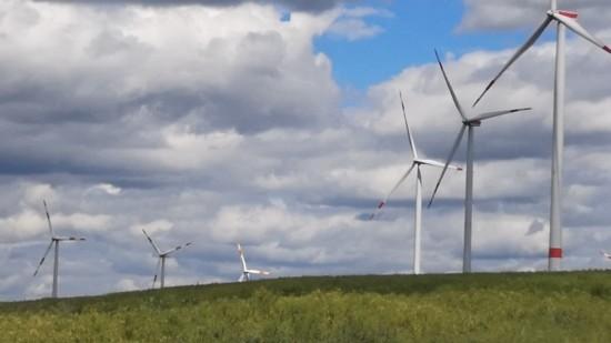 Windkraftanlagen bei Wendhausen